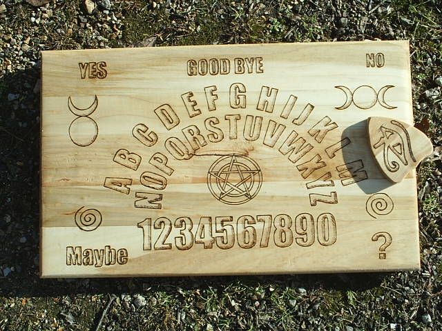 Spirit Boards, Talking Boards, Witch Boards, Ouija Boards